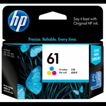 HP 61 Tri-color Ink Cartridge (CH562WA)