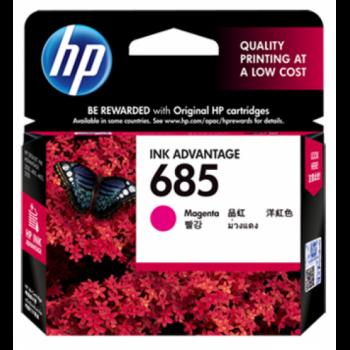 HP 685 Magenta Ink Cartridge (CZ123AA)