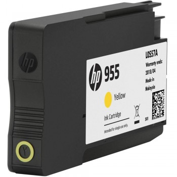 HP 955 Yellow Original Ink Cartridge (L0S57AA)