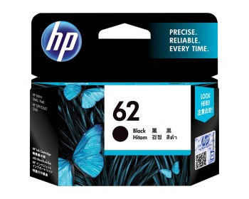 HP 62 Black Ink Cartridge (C2P04AA)