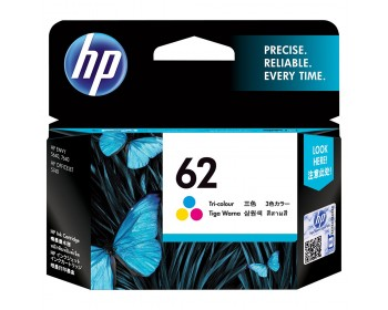 HP 62 Tri-color Ink Cartridge (C2P06AA)