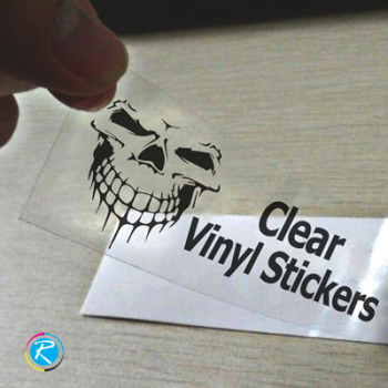 PM2-1017G (50inch X 50M) SUPER CLEAR STICKER, GLOSSY PET LINER