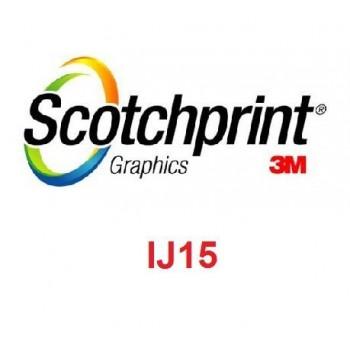 3M-IJ15-10 (1.27MX50M) White Glue-Glossy