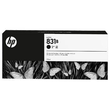 HP 831B 775-ml Black Latex Ink Cartridge (CZ688A)