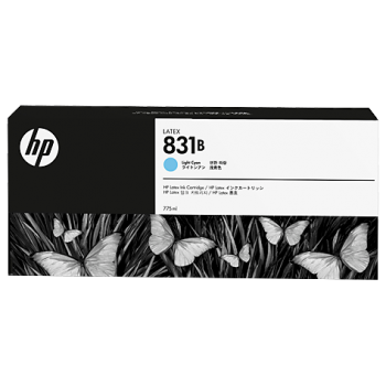 HP 831B 775-ml Light Cyan Latex Ink Cartridge (CZ692A)