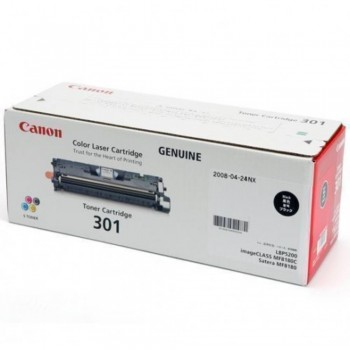 Canon Cartridge 301 Black Toner Cartridge