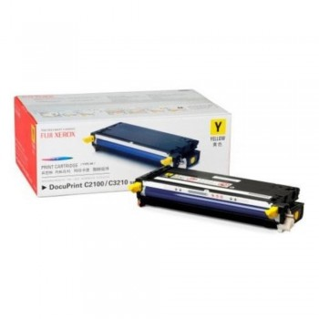 Xerox C2100 C3210 Yellow Toner Cartridge LOW - 2k (Item No: XER DPC2100YL2K)
