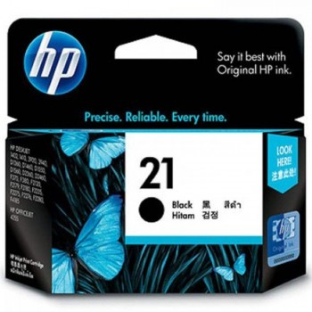 HP 21 Black Inkjet Print Cartridge (C9351AA)