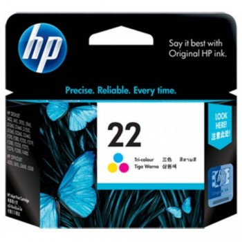 HP 22 Tri-color Inkjet Print Cartridge (C9352AA) EOL 12/04/2016