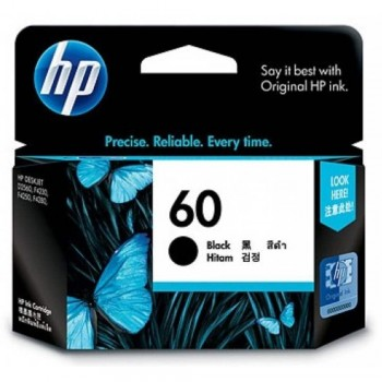 HP 60 Black Ink Cartridge (CC640WA)