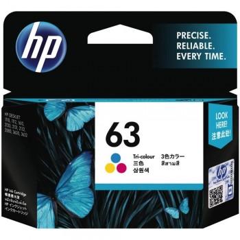 HP 63 Tri-color Ink Cartridge (F6U61AA)