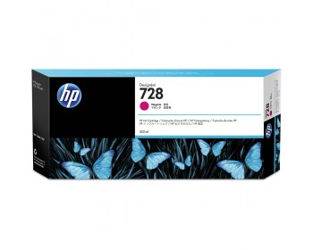 HP 728 Magenta Ink Cartridge - 300ml (F9K18A)
