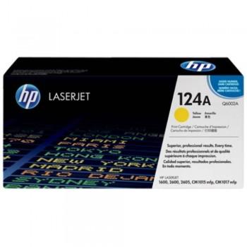 HP 124A Yellow LaserJet Toner Cartridge (Q6002A)
