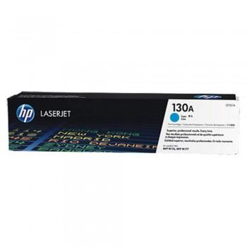 HP 130A Cyan Original LaserJet Toner Cartridge (CF351A)