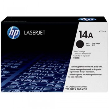 HP 14A Black Original LaserJet Toner Cartridge (CF214A)