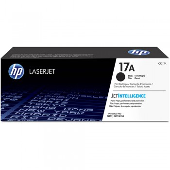 HP 17A Black Original LaserJet Toner Cartridge (CF217A)