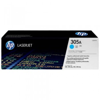 HP 305A Cyan LaserJet Toner Cartridge (CE411A) [676108]
