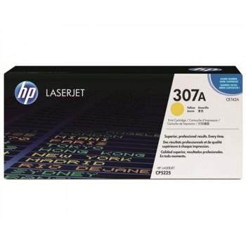 HP 307A Yellow LaserJet Toner Cartridge (CE742A)