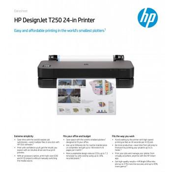 HP Designjet T250 24-Inch Tabletop Printer