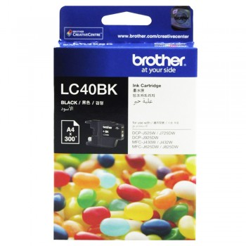Brother LC-40 Black Ink