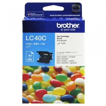 Brother LC-40 Cyan Ink